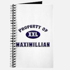 Property of maximillian Journal