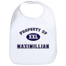 Property of maximillian Bib