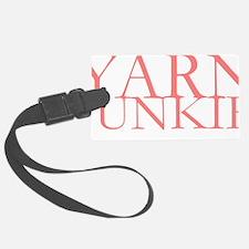 Yarn Junkie.gif Luggage Tag