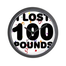 100Party Wall Clock