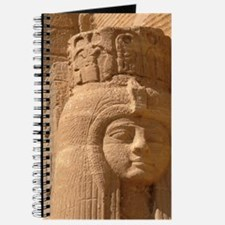 Great Temple of Ramesses II, statue of fem Journal