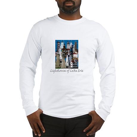Lake Erie Dark Long Sleeve T-Shirt