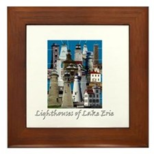 Lake Erie Dark Framed Tile