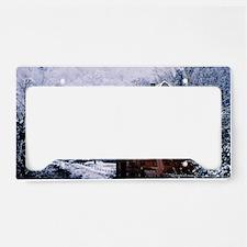 winter License Plate Holder