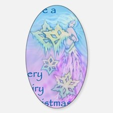 winter faerie cafepress card Decal
