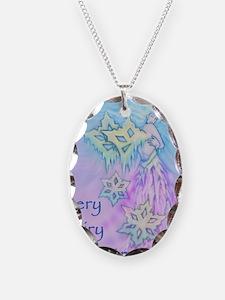 winter faerie cafepress card Necklace