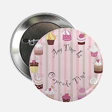 "CP-1800-Cupcakes-ANYTIME 2.25"" Button"