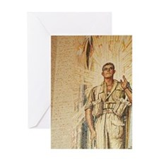Tomb of the Unknown Australian Soldi Greeting Card