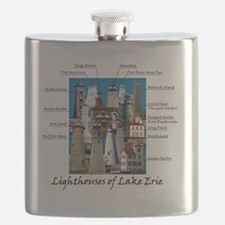Lake Erie Designt Flask