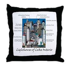 Lake OntarioDesign Throw Pillow