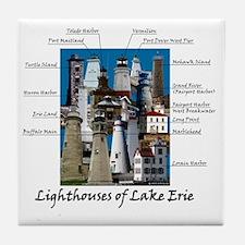 Lake Erie Designt Tile Coaster