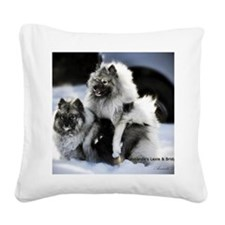 2 January Lexie and Bridget Square Canvas Pillow