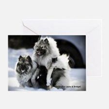 2 January Lexie and Bridget Greeting Card