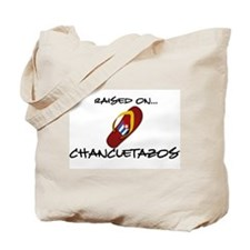 Raised on...Chancletazos Tote Bag