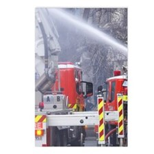 Firefighting, Dunedin, So Postcards (Package of 8)