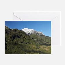 Franz Josef Glacier, Westland Nation Greeting Card