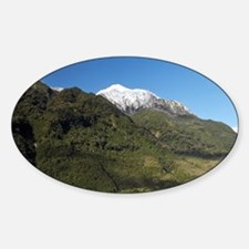 Franz Josef Glacier, Westland Natio Sticker (Oval)