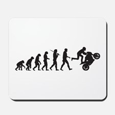 Motorcycle Wheelie Mousepad