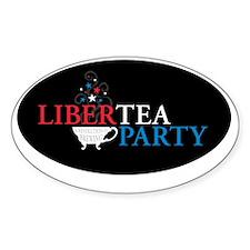 Libertea Party Oval Decal