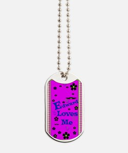 Edward Loves Me Patern 2444_iphone_case Dog Tags