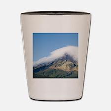 Road and Mt Taranaki / Egmont Shot Glass