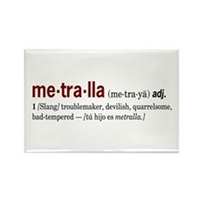 Metralla Rectangle Magnet