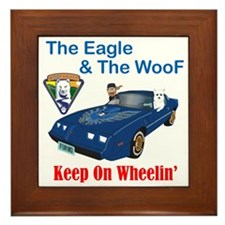 EagleWoof2 Framed Tile