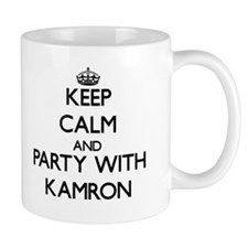 Keep Calm and Party with Kamron Mugs