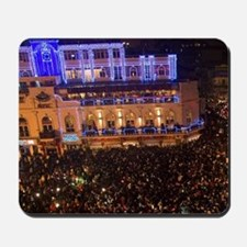 Crowds of people celebrate during Tet fe Mousepad