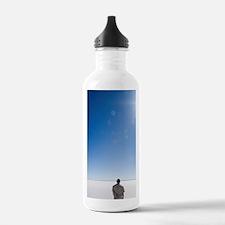 Person Walking on Lake Water Bottle