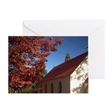 St Pauil's Anglican Church, Arrowtow Greeting Card