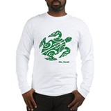 Tribal turtle Classic Long Sleeve T-Shirts