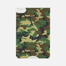 Woods Camo Rectangle Magnet