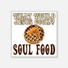 """SoulFood Square Sticker 3"""" x 3"""""""