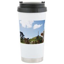 Cows and Obelisk, One Tree Hill Travel Mug