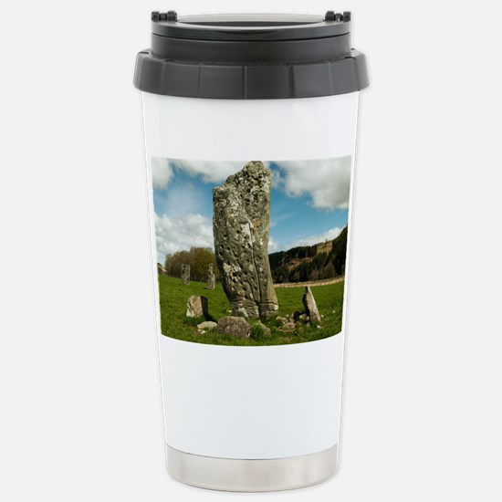 Nether Largie Standing Stones,  Stainless Steel Tr
