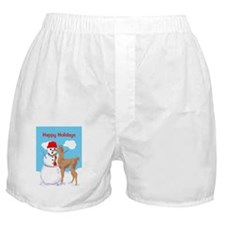 cria and snowman 5x7 5 Boxer Shorts