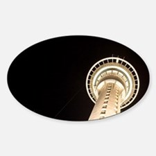 Skytower at night, Auckland, North  Decal