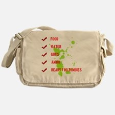 zombieready Messenger Bag