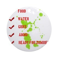 zombieready Round Ornament