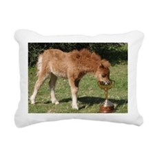 Orphaned Foal - Joy Rectangular Canvas Pillow