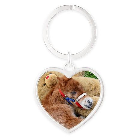 Orphaned Foal - Joy Heart Keychain