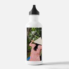 Traditional sampan boa Water Bottle