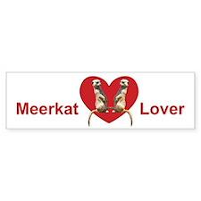 Meerkat Bumper Car Sticker