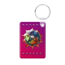 elements pentacle 5x8_jour Keychains