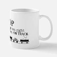 Leave Pop Pop Train em Mug