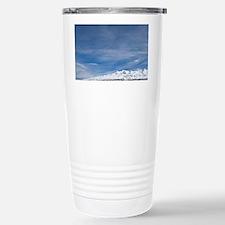 Rangipo Desert and Mt Ruapehu,  Travel Mug