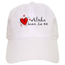 """I Love You"" [Hawaiian] Baseball Cap"