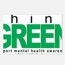 Mental-Health-Think-Green Postcards (Package of 8)