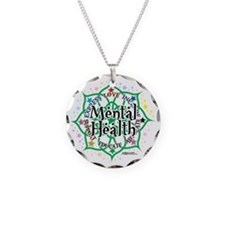 Mental-Health-Lotus Necklace